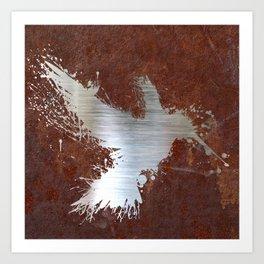 Hummingsplat - Rusty Art Print