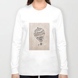 Hot Air Ballon Long Sleeve T-shirt