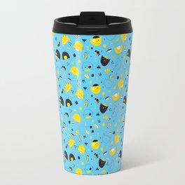 Hannukats Blue Travel Mug