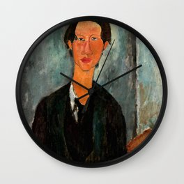 "Amedeo Modigliani ""Chaim Soutine"" Wall Clock"