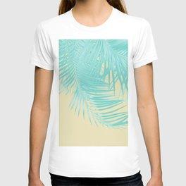 Palm Leaves Summer Vibes #12 #tropical #decor #art #society6 T-shirt