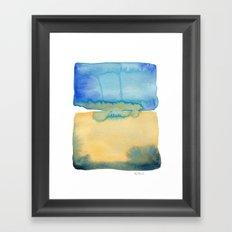 Color Field No. 2 Framed Art Print