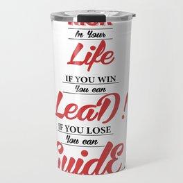 Lab No. 4 - Swami Vivekananda Inspiration Quote Typography Poster Travel Mug