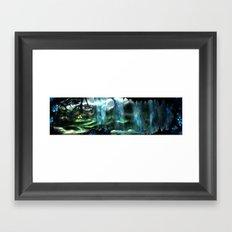 Metroid Metal: Tallon Overworld- Where it All Begins Framed Art Print