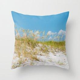 St. Pete Beach IV Throw Pillow