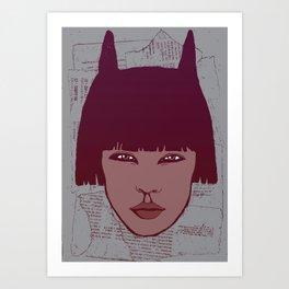 Kathy Art Print