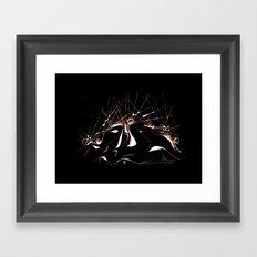 SIMBIOSIdue Framed Art Print