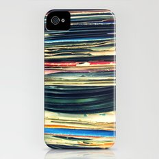 put your records on iPhone (4, 4s) Slim Case