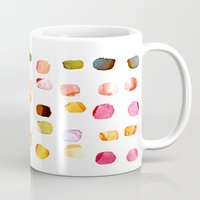 aelwen Mugs featuring strokes of colors by clemm