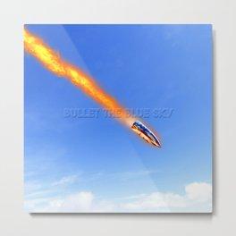 u2's bullet the blue sky Metal Print