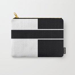 Team Color 6....black,white Carry-All Pouch