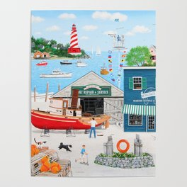 Where the Buoys Are Poster