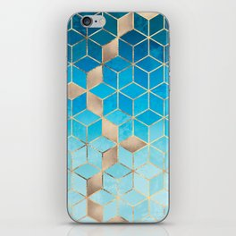 Sea And Sky Cubes (Custom Request) iPhone Skin