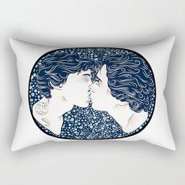 First Kiss Rectangular Pillow