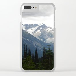 Whistler views Clear iPhone Case