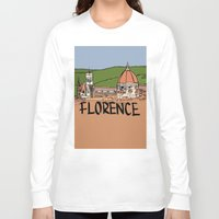 florence Long Sleeve T-shirts featuring Florence by Logan_J