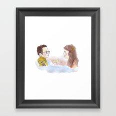Sam and Suzy, Moonrise Kingdom Framed Art Print