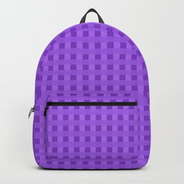 Retro Purple Squares Backpack