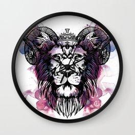 Leo Wall Clock