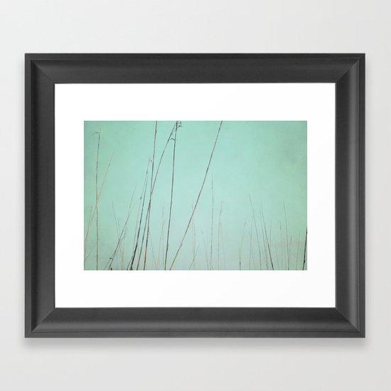 Quiet Breath Framed Art Print