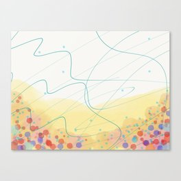 Waggle Dance Canvas Print