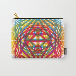 4 Corners of Abundance (wide) Carry-All Pouch