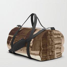 Old Log Cabin Duffle Bag