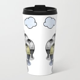 TWO GATHER WITH CLOUDS Travel Mug