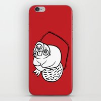 beaver iPhone & iPod Skins featuring Beaver by JuPON