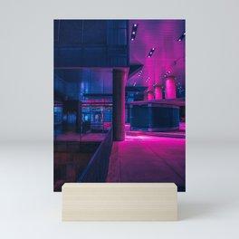 Neon Contrast Mini Art Print