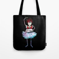 ballerina Tote Bags featuring Ballerina by clemm