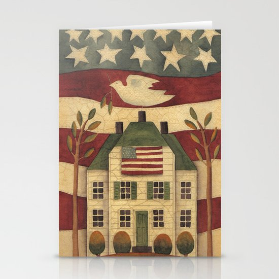 Where Freedom Dwells Stationery Cards
