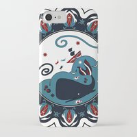the whale iPhone & iPod Cases featuring whale by gazonula