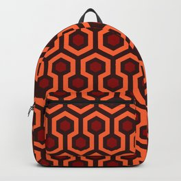 The Overlook Hotel Carpet Pattern Backpack