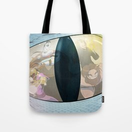 """""""Rollin' Deep in the Dragon's Keep"""" - Dungeons & Doritos Tote Bag"""