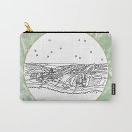 Oxford, England (United Kingdom), Europe City Skyline Illustration Drawing Carry-All Pouch