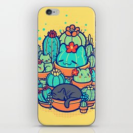 Catcus Patch iPhone Skin