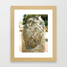 Father by Shimon Drory Framed Art Print