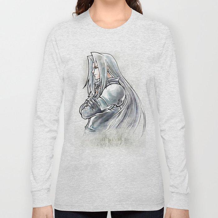Sephiroth Artwork Final Fantasy Vii Long Sleeve T Shirt By Mcashe Art