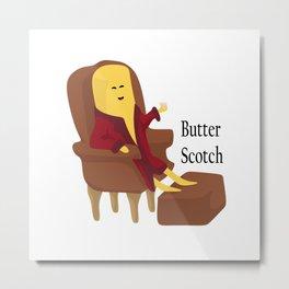 Butter Scotch Metal Print