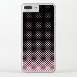 Halftone Clear iPhone Case