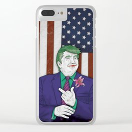 Augusto MMXVI (Donny J. Trump) Clear iPhone Case