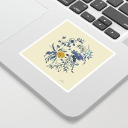 Vulnerability Is Scary, But Look At How Beautiful It Looks Sticker