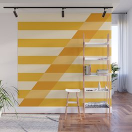 Striped Shadow 2 Wall Mural