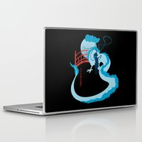 spirited away Laptop & iPad Skins featuring Spirited by IlonaHibernis