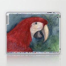 Red Macaw Laptop & iPad Skin