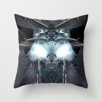 transformer Throw Pillows featuring Transformer! by Robin Curtiss