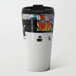 Boats In The Habour Travel Mug
