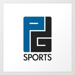 PG Sports Logo Art Print