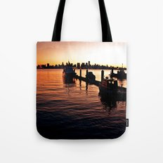 A View From The North Shore Tote Bag
